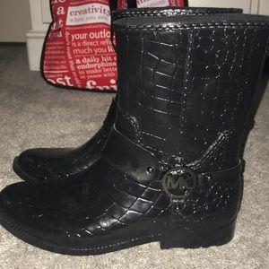 patent michael kors boots